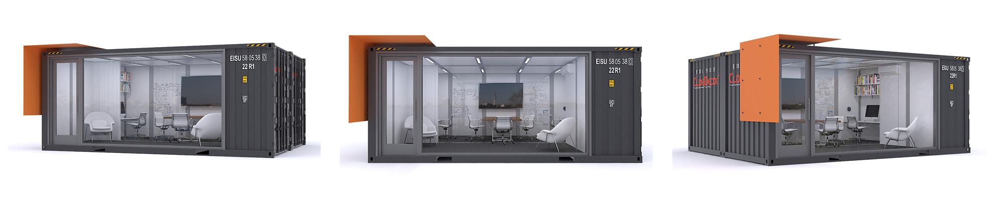 Cargo Container Based Architecture | AB design studio