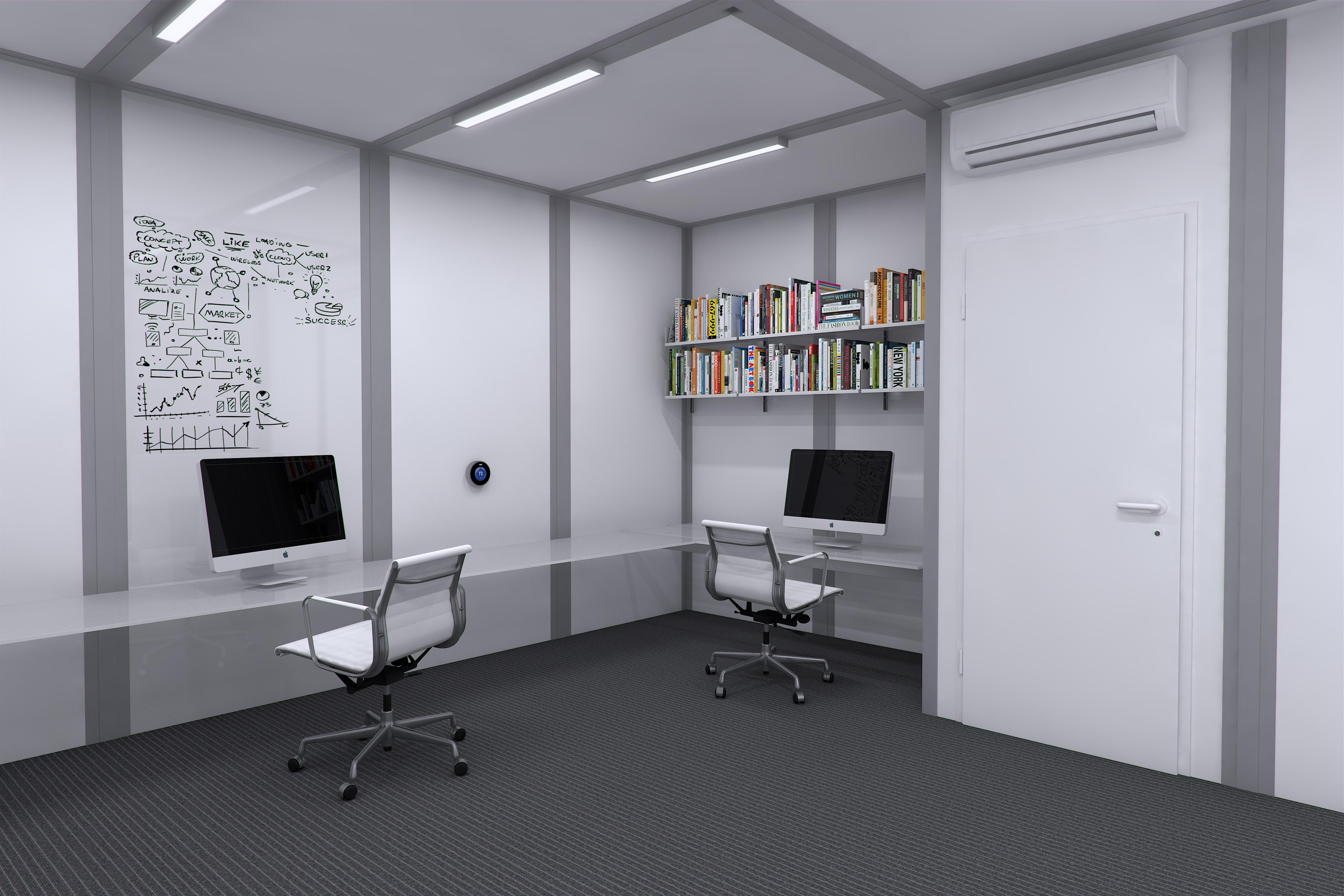 Experimental Architecture | ME:LU - Modular Expandable : Office Unit