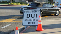 Santa Barbara License and DUI Checkpoints