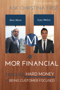 Private Money Loans and Hard Money with Sean and Ajay
