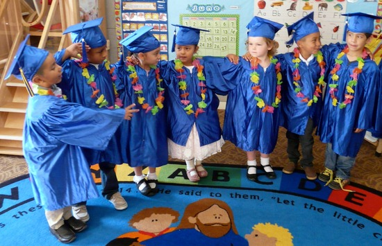 St. Vincent's Early Childhood Education Center Graduation2014