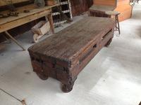 Railroad Cart Coffee Table
