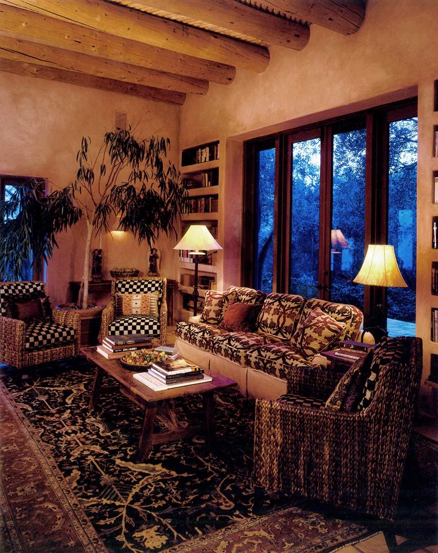 Santa fe style interior design - Montecito Santa Fe Style