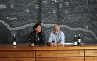 AVA Santa Barbara Wine Tasting Room Owners, Magan Eng & Seth Kunin