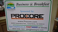 Business@Breakfast Sponsored by Procore