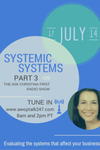 Wrap Up of Systemic Systems