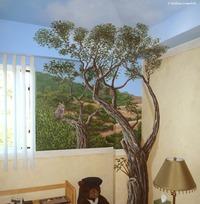 Owl Oaks Mural 989d