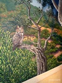 Owl Oaks Mural 5