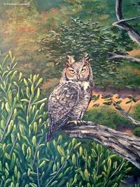 Owl Oaks Mural 4