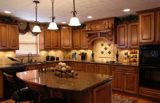 "Kitchen Layout Island the ""l"" shape with island kitchen layout"