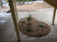 Remodeled Concrete Slab Porch