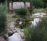 Waterfall Pond Mosaic