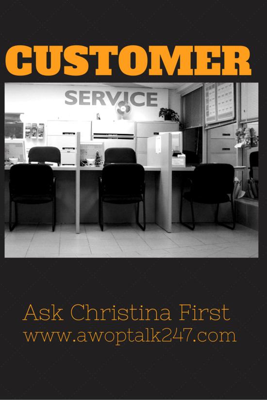 Today- Customer Service
