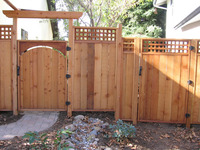 Sustainable Harvested Wood Fences