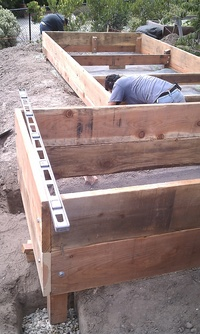 Building Vegetable Boxes