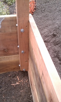 Wood Boxes Construction Detail