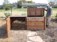 Large Double Compost Bin