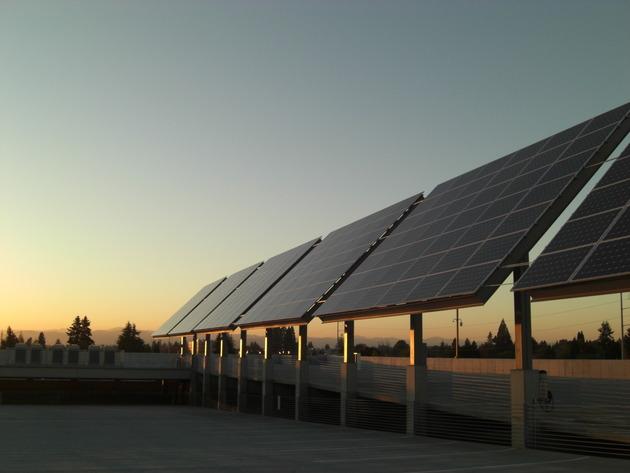 ITF Solar panels