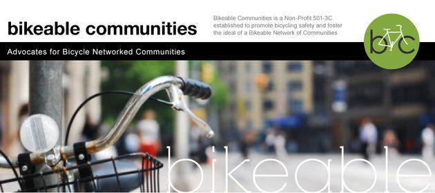 Bikeable Communities Banner