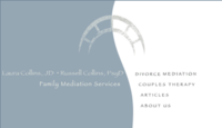 Family Mediation Services - Laura and Russell Collins in Santa Barbara, California