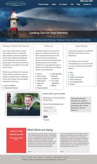 Santa Barbara Divorce Attorney  - Matthew J. Long Home