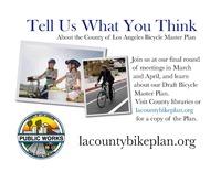 LA Bicycle Master Plan