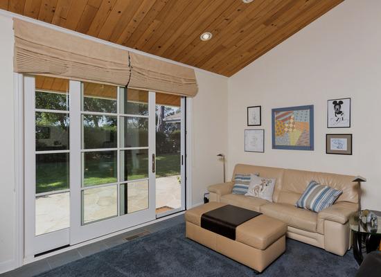 Family Room & Door to Sideyard