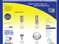 Starlights Inc., LED Lighting Company old website