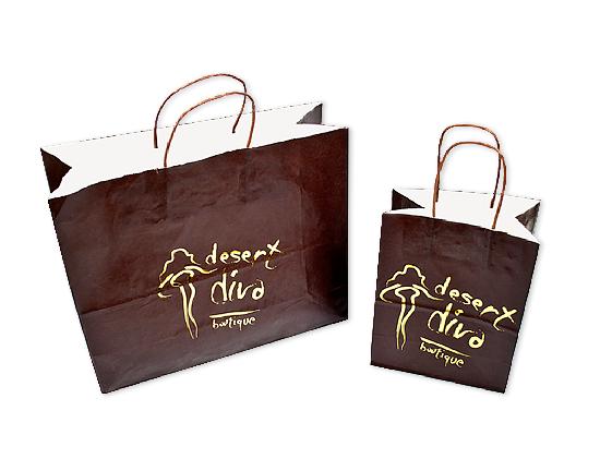 Desert Diva Shopping Bags