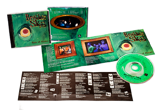 Brother Sky CD Package