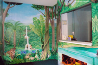 Rainforest Pediatricians Mural 1