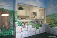 Rainforest pediatrics Mural 912