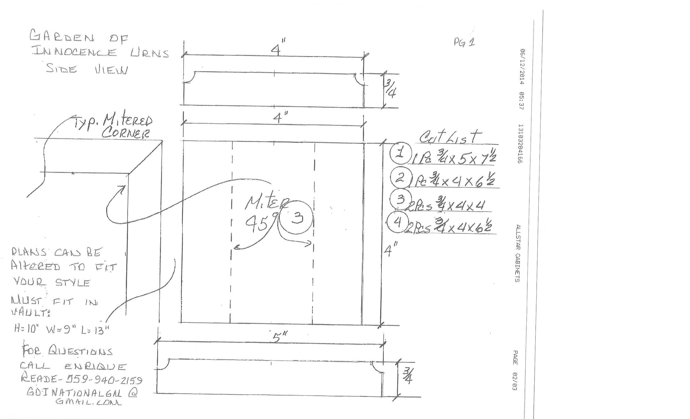 Our Urns Plans for Woodworkers-14