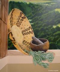 Chumash Landscape Dental Mural 677