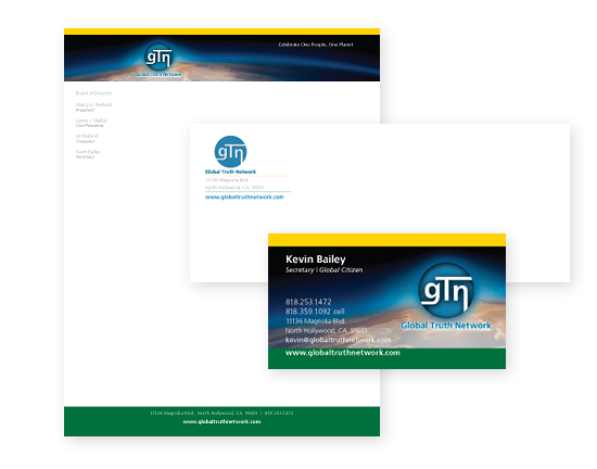 Global Truth Network Stationary