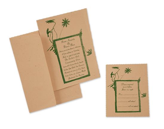 Bean-Kurjac Wedding Invitation