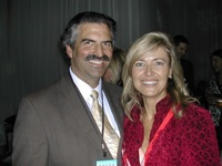 Jonatha King with John Palminteri