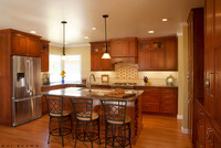 Santa Barbara Transitional Kitchens-1