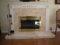 Santa Barbara  Fireplace Design
