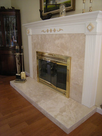 Santa Barbara  Fireplace Design-2