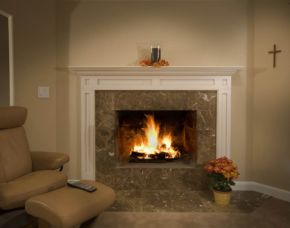 santa barbara fireplace design hahka kitchens goleta