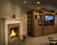 Santa Barbara  Fireplace Design-5