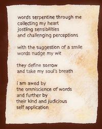 omniscience of words