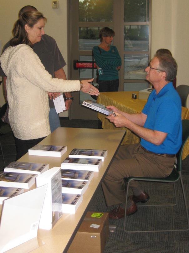 The Passage at Delphi Book Signing Tour Kicks Off