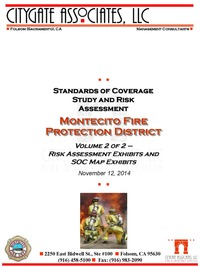 Standards of Cover and Risk Assessment Study Vol 2
