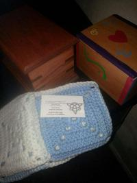 Hampton Virginia sends blankets and urns