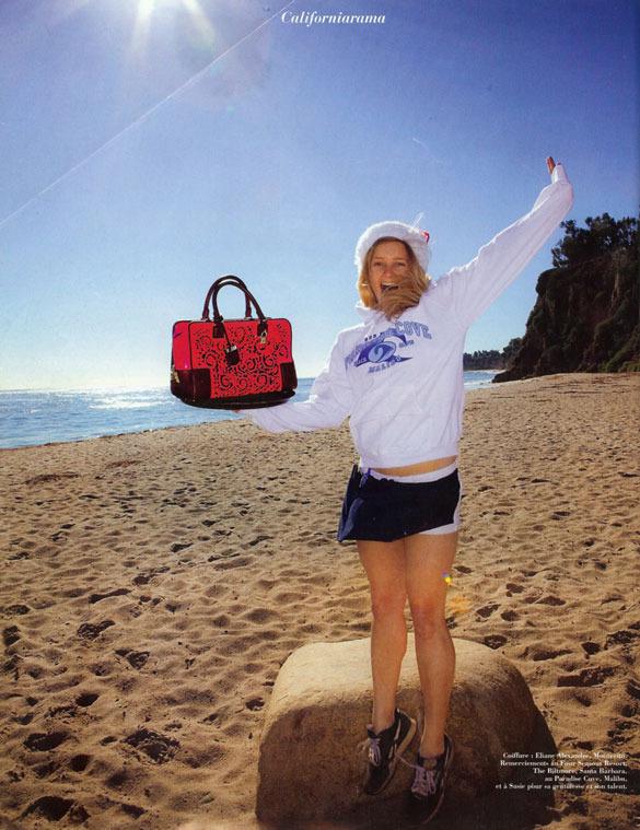 Marie Claire Magazine - Fall 2010 - Paradise Cove, Malibu