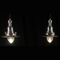 "Industrial Lamps 16"" H x 12"" W"