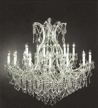 "Extra Large Versailles Chandelier 60"" H x 52"" W"