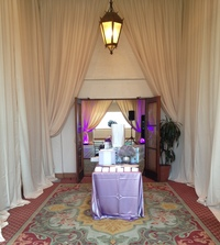 Entry and Wall Drape